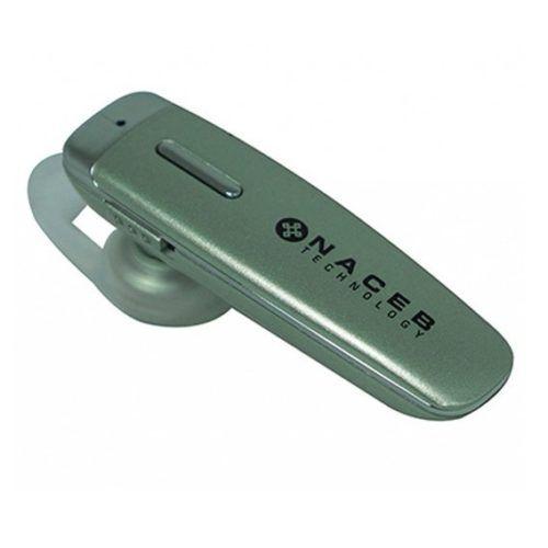 Manos Libres Bluetooth Naceb Plata NA-597
