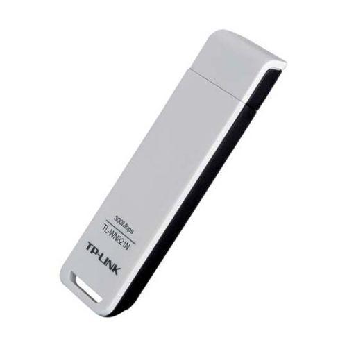 Adaptador Inalambrico TP-LINK USB 2.0 N300 QSS TL-WN821N