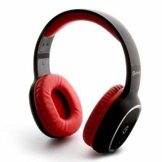 Diadema Getttech GH-4640R BT 3.0 Stereo c mic Negro Rojo | Hoolboox Hardware & Software