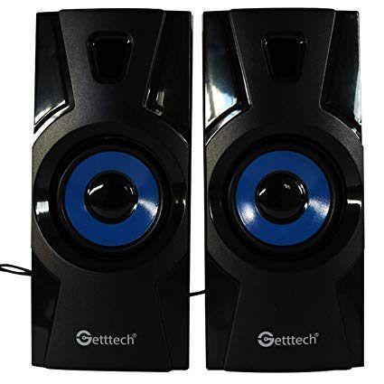 Bocinas Getttech SK1000 3W USB Estéreo 2.0