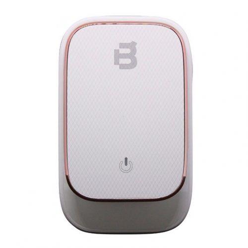 Cargador Blackpcs 4 Puertos USB LED Touch Blanco (ESH014-W)