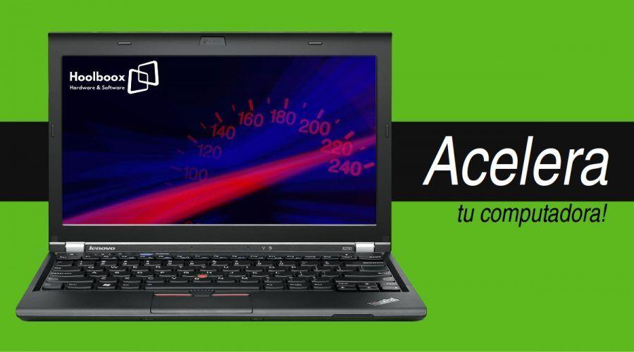 Acelera tu computadora   Hoolboox Hardware & Software