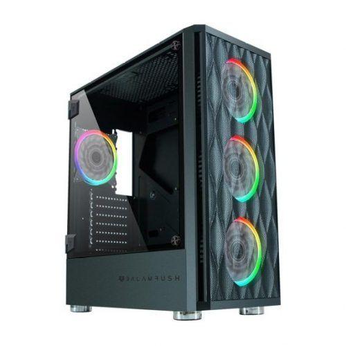 Gabinete Balam Rush E-ATX 4VENT E-ATX Cristal SGX3000 BR-931281