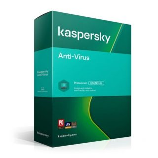 Kaspersky Anti-Virus 1 Usuario 1 año (TMKS-167) | Hoolboox Hardware & Software