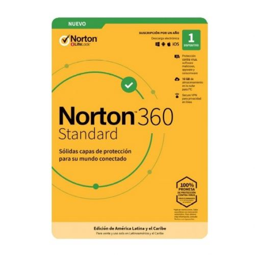 Norton 360 Standard Internet Security 1DV 1 año (TMNR-032)