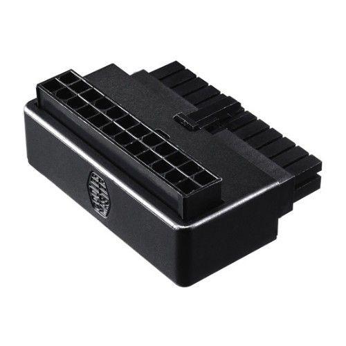 Adaptador Cooler Master ATX 24-Pin Macho – ATX 24-Pin Hembra Negro