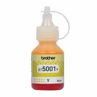 Botella de Tinta Brother BT5001Y Amarillo 5000 Páginas   Hoolboox Hardware & Software