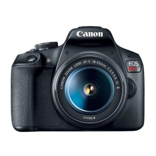 Cámara Canon EOS Rebel T7 3″ 24.1MP Lente EF-S (2727C069AA)