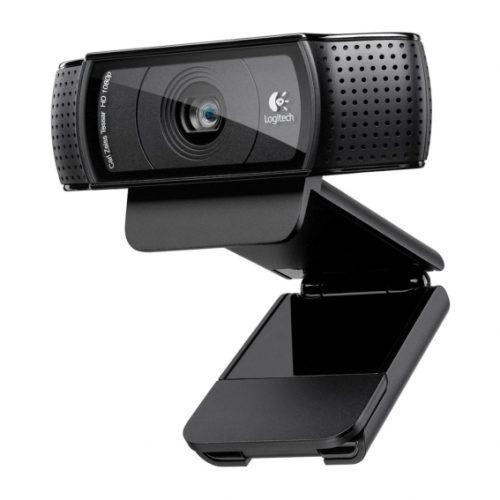 Cámara Web Logitech HD Pro C920 Full HD USB Negro (960-000764) | Hoolboox Hardware & Software