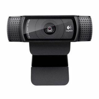 Cámara Web Logitech HD Pro C920 Full HD USB Negro (960-000764)   Hoolboox Hardware & Software
