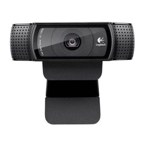 Cámara WEB Logitech HD Pro C920 Full HD USB Negro (960-000764)
