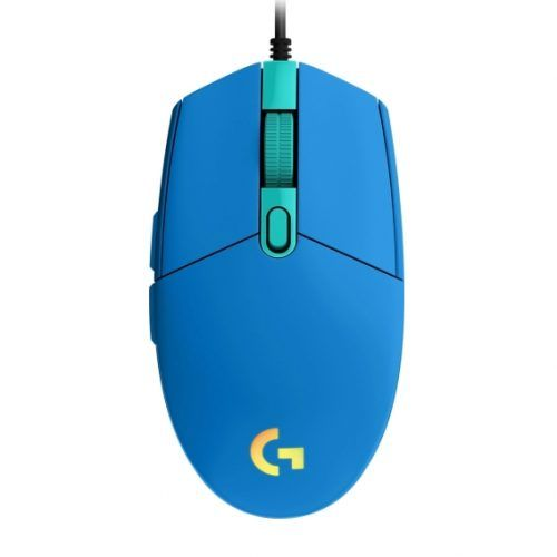 Mouse Gamer Logitech G203 LightSync USB 8000DPI Azul (910-005795)