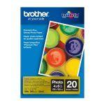 Papel Fotografico Brother BP71GP20 Brillante Tamaño 4″ x 6″ 20 Hojas