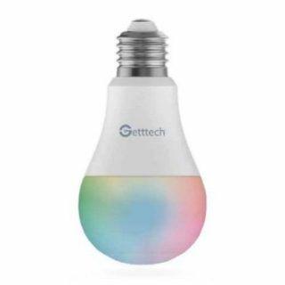 Foco LED Inteligente Getttech GSR-71001 WiFi Blanco RGB 6500K 12W   Hoolboox Hardware & Software