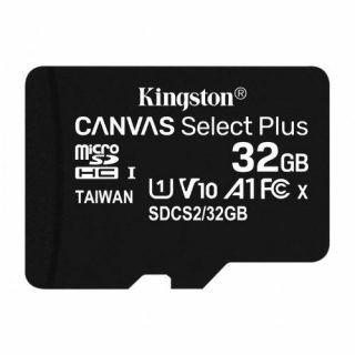Memoria MicroSDXC UHS-I Clase 10 Kingston Canvas Select Plus 32GB | Hoolboox Hardware & Software