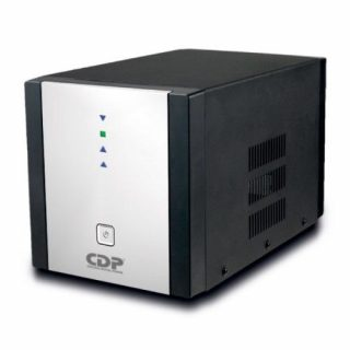 REGULADOR MARCA CDP MOD R-AVR2408 2400 VA 1800W, 8 CONTACTOS, COAXIA