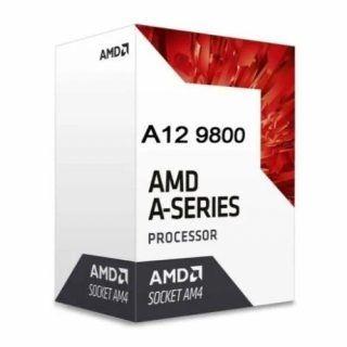 CPU AMD A-SERIES A12 9800E 3.1 A 3.8 GHZ 35W SOC AM4 AD9800AHABBOX