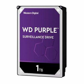 DISCO DURO INTERNO WD 1TB 3.5 WD10PURZ. 64MB SATA3 5400RPM PURPLE