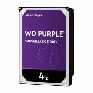 DISCO DURO INTERNO WD 4TB 3.5 WD40PURZ. 64MB SATA3 5400RPM PURPLE