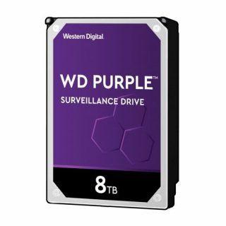 DISCO DURO INTERNO WD 8TB 3.5 WD82PURZ. 256MB SATA3 7200RPM PURPLE