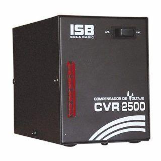 REGULADOR SOLA BASIC CVR-2500EE 2500VA 1500W 1CONT PARA REFRIGERADOR