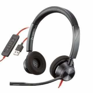 POLY DIADEMA BLACKWIRE C3320 USB-A EQ DINAMICO BINAURAL(213934-01) | Hoolboox Hardware & Software