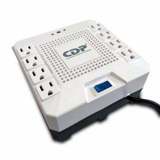 REGULADOR MARCA CDP MOD R-AVR1808 1800VA 1000W 8 CONTACTOS (R-AVR1808) | Hoolboox Hardware & Software